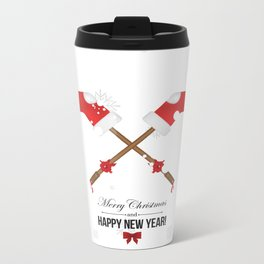 Holiday decorations Metal Travel Mug