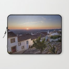 Marvao cottages at dawn, Portugal Laptop Sleeve