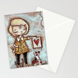 Work of Heart by Diane Duda Stationery Cards