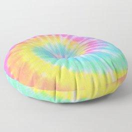 Rainbow Tie Dye Floor Pillow