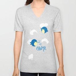 Chirp. Unisex V-Neck