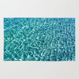 Clear water blue Rug