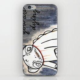 panda's dying iPhone Skin