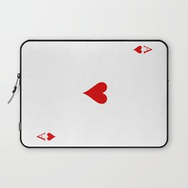 Ace of Hearts / As de Corazones Laptop Sleeve