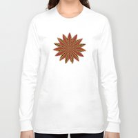spanish Long Sleeve T-shirts featuring Spanish sun by Bubblemaker