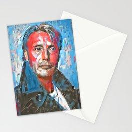 Mads Mikkelsen #1 by Kulture Bang Stationery Cards