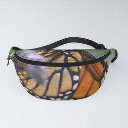 Monarch Danaus Plexippus Butterfly Fanny Pack
