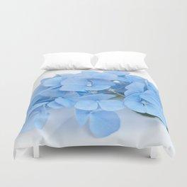 Blue Hydrangeas #1 #decor #art #society6 Duvet Cover