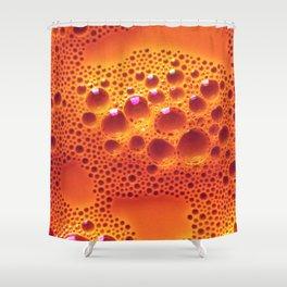Orange Adagio Shower Curtain