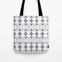 Tribal Triangles Tote Bag