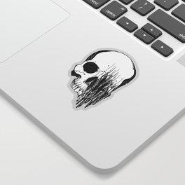 Skull #5 (Distortion) Sticker
