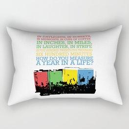 seasons of love Rectangular Pillow