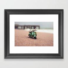 November's Beach Framed Art Print