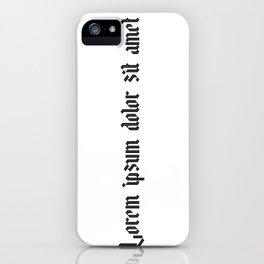 Lorem ipsum dolor sit amet - Easy Company iPhone Case
