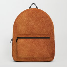 N91 - HQ Original Moroccan Camel Leather Texture Photography Backpack