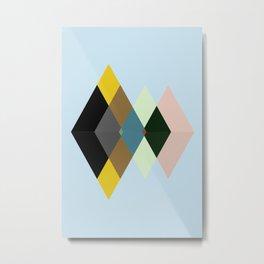 Abstract #709 Metal Print