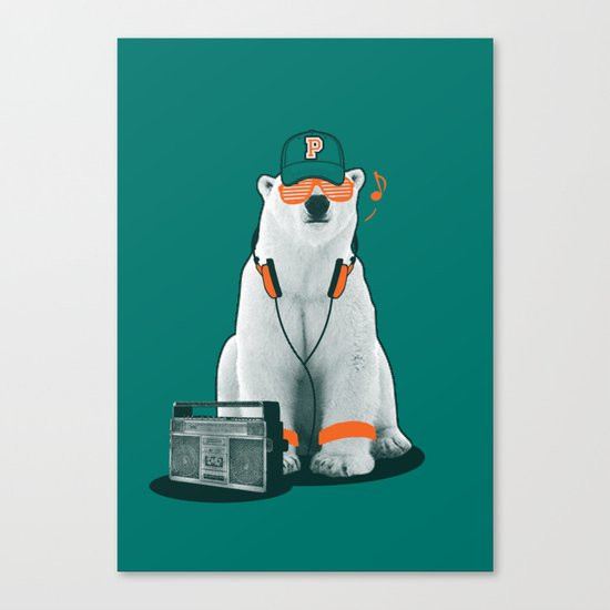 Popster Canvas Print