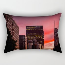 Skyscapes in Los Angeles Rectangular Pillow