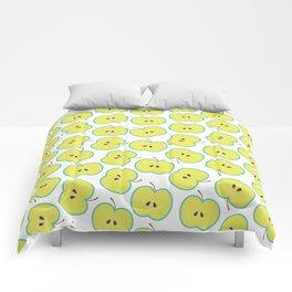 Summer apple Comforters
