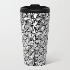 Zentangle Paradox  Metal Travel Mug