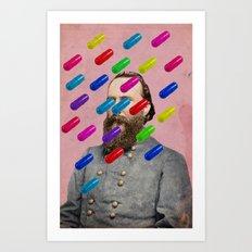 Color Chaos Collection -- Major Pill Art Print