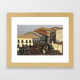 Pelourinho - Salvador - Brasil Framed Art Print