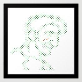 Neon Tears (Colby) Art Print