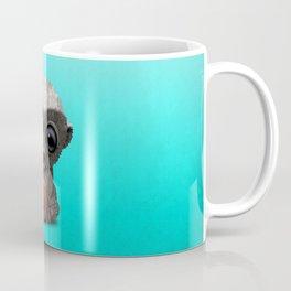 Baby Honey Badger Playing With Basketball Coffee Mug