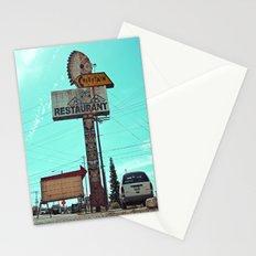 Roadside totem pole Stationery Cards