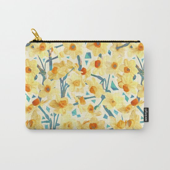 Yellow Jonquils Carry-All Pouch