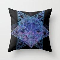 starfox Throw Pillows featuring StarFox by Eric Rasmussen