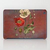 poppy iPad Cases featuring Poppy by jbjart