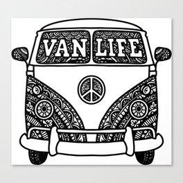 Vanlife Mandala Canvas Print