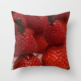 Berry Men Throw Pillow