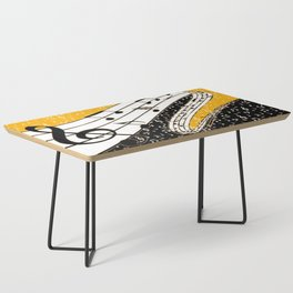 Gold music theme Coffee Table