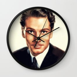 Sir Laurence Olivier, Vintage Actor Wall Clock