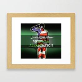 Veterans Appreciation Framed Art Print