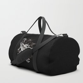 White Scorpion Stylish Scorpio Zodiac Duffle Bag