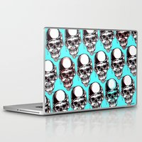 kindle Laptop & iPad Skins featuring 202 by ALLSKULL.NET