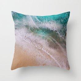 Aloha Kai Throw Pillow