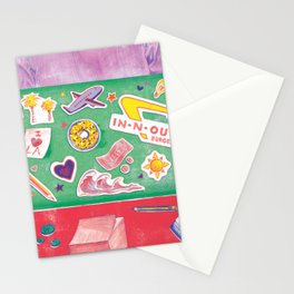 Writing My Way Out by Chrissy Curtin Stationery Cards