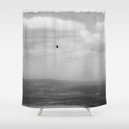 HAZY DAYZ Shower Curtain