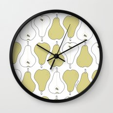pears Wall Clock