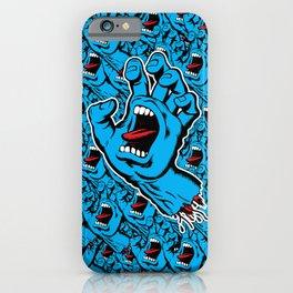 Scream Hand iPhone Case