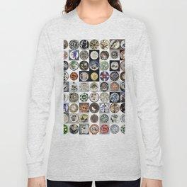 Picasso Ceramic Plates Long Sleeve T-shirt