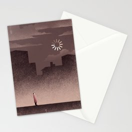 Waiting for the Sun Stationery Cards