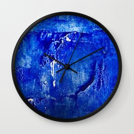 Ultramarine Wall Clock