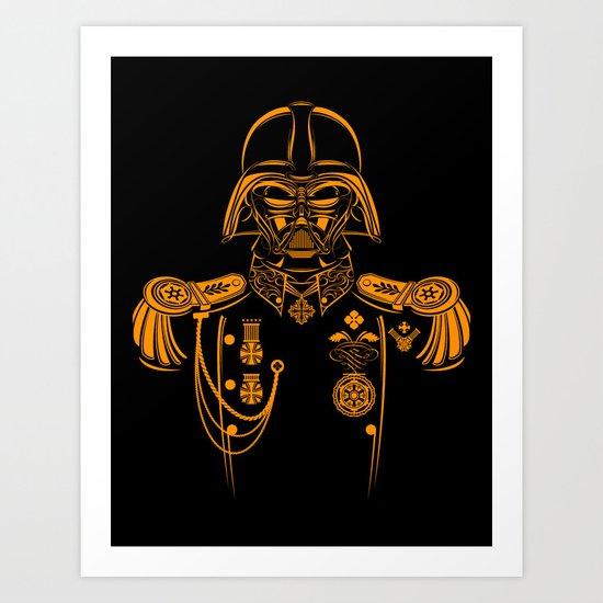 Marshal Darth Vader Art Print