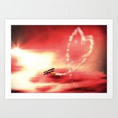 Demonstration of Love Art Print