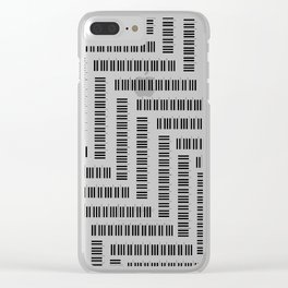Tickling the Ivories Clear iPhone Case
